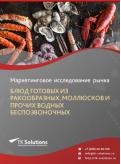 Российский рынок блюд готовых из ракообразных, моллюсков и прочих водных беспозвоночных за 2016-2021 гг. Прогноз до 2025 г.
