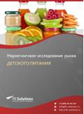 Российский рынок детского питания за 2016-2021 гг. Прогноз до 2025 г.