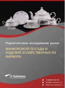 Российский рынок фарфоровой посуды и изделий хозяйственных из фарфора за 2016-2021 гг. Прогноз до 2025 г.