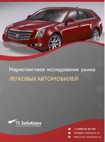 Российский рынок легковых автомобилей за 2016-2021 гг. Прогноз до 2025 г.