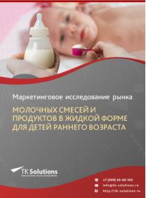 Рынок молочных смесей и продуктов в жидкой форме для детей раннего возраста в России 2015-2021 гг. Цифры, тенденции, прогноз.