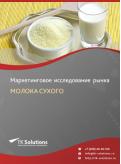 Российский рынок молока (частично обезжиренного, цельного) сухого за 2016-2021 гг. Прогноз до 2025 г.