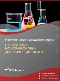 Российский рынок насыщенных монокарбоновых ациклических кислот за 2016-2021 гг. Прогноз до 2025 г.