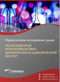 Рынок ненасыщенных монокарбоновых циклических и ациклических кислот в России 2015-2021 гг. Цифры, тенденции, прогноз.