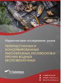 Российский рынок переработанных и консервированных ракообразных, моллюсков и прочих водных беспозвоночных за 2016-2021 гг. Прогноз до 2025 г.