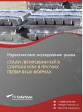 Российский рынок стали легированной в слитках или в прочих первичных формах за 2016-2021 гг. Прогноз до 2025 г.