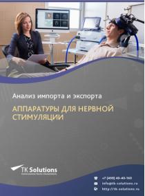 Анализ импорта и экспорта аппаратуры для нервной стимуляции в России в России 2021, 2020 2016-2020  гг.