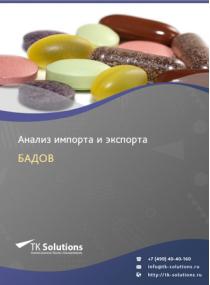 Анализ импорта и экспорта БАДов (смесей витаминов и минеральных веществ, предназначенных для сбалансированного дополнения к питанию) в России за 2016-2020  гг.