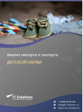 Анализ импорта и экспорта детской обуви в России за 2016-2020  гг.