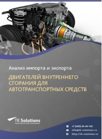 Анализ импорта и экспорта двигателей внутреннего сгорания для автотранспортных средств в России за 2016-2020  гг.