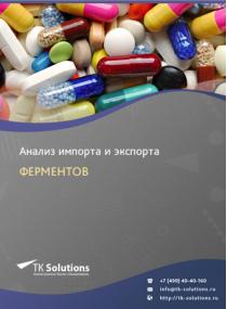 Анализ импорта и экспорта ферментов в России за 2016-2020  гг.