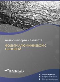 Анализ импорта и экспорта фольги алюминиевой с основой (для упаковки) в России за 2016-2020  гг.