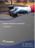 Анализ импорта и экспорта газойля в России в России 2021, 2020 2016-2020  гг.