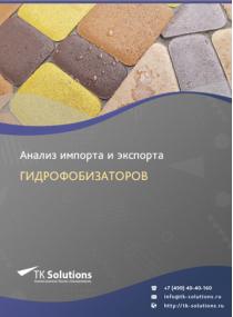 Анализ импорта и экспорта гидрофобизаторов в России в России 2021, 2020 2016-2020  гг.
