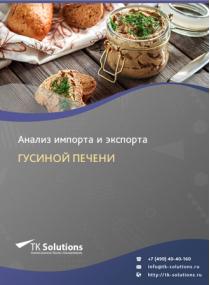 Анализ импорта и экспорта гусиной печени в России за 2016-2020  гг.