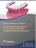 Анализ импорта и экспорта искусственных зубов и стоматологических соединительных деталей в России в России 2021, 2020 2016-2020  гг.