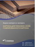 Анализ импорта и экспорта картона для плоских слоев гофрированного картона в России в России 2021, 2020 2016-2020  гг.