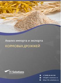 Анализ импорта и экспорта кормовых дрожжей в России за 2016-2020  гг.