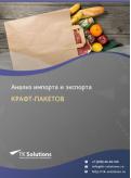 Анализ импорта и экспорта крафт-пакетов в России в России 2021, 2020 2016-2020  гг.