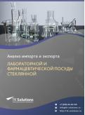 Анализ импорта и экспорта лабораторной и фармацевтической посуды стеклянной в России в России 2021, 2020 2016-2020  гг.