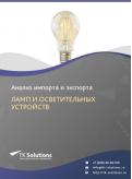 Анализ импорта и экспорта ламп и осветительных устройств в России за 2016-2020  гг.