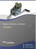Анализ импорта и экспорта лебедок в России в России 2021, 2020 2016-2020  гг.