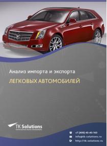 Анализ импорта и экспорта легковых автомобилей в России в России 2021, 2020 2016-2020  гг.