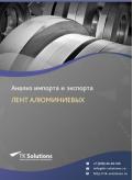 Анализ импорта и экспорта лент алюминиевых в России в России 2021, 2020 2016-2020  гг.