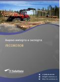 Анализ импорта и экспорта лесовозов в России в России 2021, 2020 2016-2020  гг.