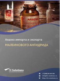 Анализ импорта и экспорта малеинового ангидрида в России в России 2021, 2020 2016-2020  гг.