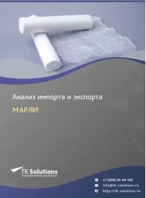 Анализ импорта и экспорта марли в России в России 2021, 2020 2016-2020  гг.