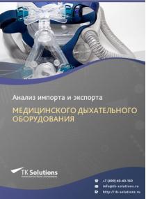 Анализ импорта и экспорта медицинского дыхательного оборудования в России за 2016-2020  гг.