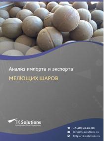 Анализ импорта и экспорта мелющих шаров в России в России 2021, 2020 2016-2020  гг.