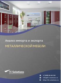 Анализ импорта и экспорта металлической мебели в России за 2016-2020  гг.