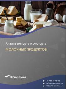 Анализ импорта и экспорта молочных продуктов в России в России 2021, 2020 2016-2020  гг.