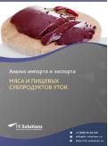 Анализ импорта и экспорта мяса и пищевых субпродуктов уток в России в России 2021, 2020 2016-2020  гг.