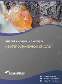 Анализ импорта и экспорта нефтеполимерной смолы в России за 2016-2020  гг.