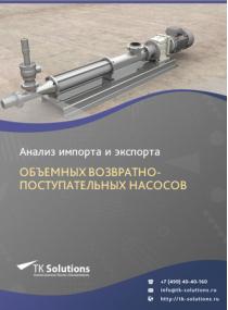 Анализ импорта и экспорта объемных возвратно-поступательных насосов в России в России 2021, 2020 2016-2020  гг.