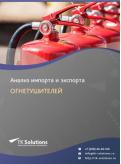 Анализ импорта и экспорта огнетушителей в России в России 2021, 2020 2016-2020  гг.