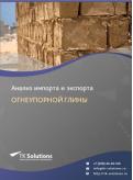 Анализ импорта и экспорта огнеупорной глины в России за 2016-2020  гг.