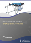 Анализ импорта и экспорта операционных столов в России в России 2021, 2020 2016-2020  гг.