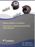 Анализ импорта и экспорта пластмассовой фурнитуры для мебели в России в России 2021, 2020 2016-2020  гг.