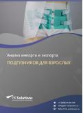Анализ импорта и экспорта подгузников для взрослых в России в России 2021, 2020 2016-2020  гг.