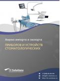 Анализ импорта и экспорта приборов и устройств стоматологических в России в России 2021, 2020 2016-2020  гг.
