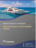 Анализ импорта и экспорта прогулочных и спортивных судов в России в России 2021, 2020 2016-2020  гг.