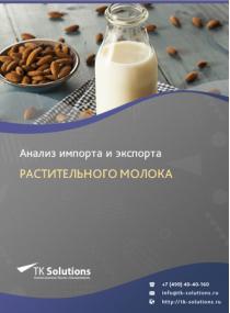 Анализ импорта и экспорта растительного молока в России в России 2021, 2020 2016-2020  гг.