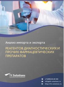 Анализ импорта и экспорта реагентов диагностических и прочих фармацевтических препаратов в России в России 2021, 2020 2016-2020  гг.