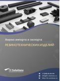 Анализ импорта и экспорта резинотехнических изделий (РТИ) в России в России 2021, 2020 2016-2020  гг.