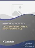 Анализ импорта и экспорта смол каменноугольных, буроугольных и т.д. в России в России 2021, 2020 2016-2020  гг.