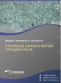 Анализ импорта и экспорта стеклобоя, скрапа и прочих отходов стекла в России в России 2021, 2020 2016-2020  гг.